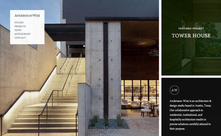Andersson Wise Architects Siteinspire - Tower-house-in-texas-by-andersson-wise-architects