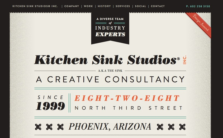 Kitchen Sink Studios — siteInspire