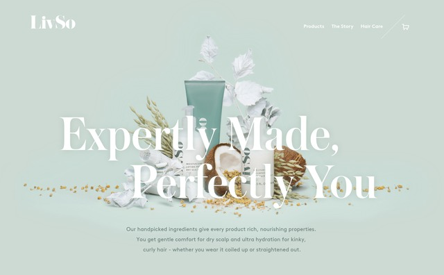Beauty & Skincare websites — siteInspire