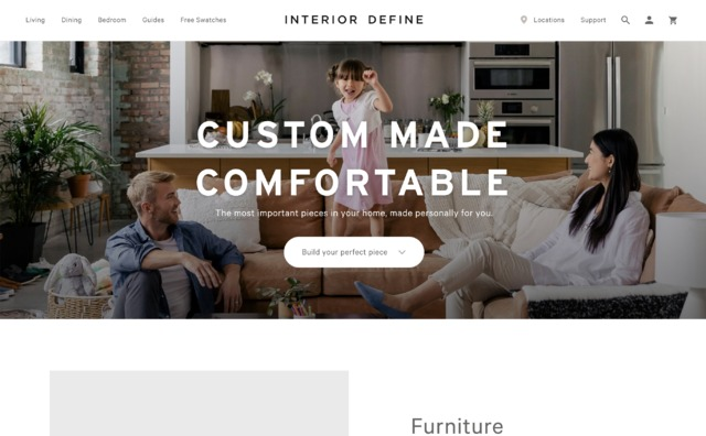 Furniture Websites Siteinspire